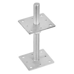 patka sloupku PSR 110 M24 stavitelná, galvanický zinek