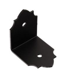 úhelník SDSKW8, 52x52x40x2,0mm černý