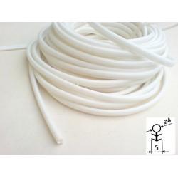 těsnění silikonové SILLEN 4mm bílá B10