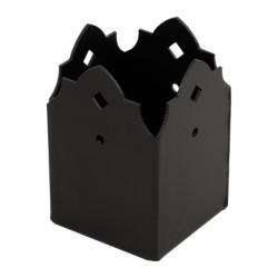 patka sloupku SDSP 70A ozdobná černá