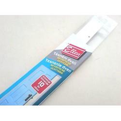 těsnící kartáček samolepící  92,5cm hnědá STRIBO plast