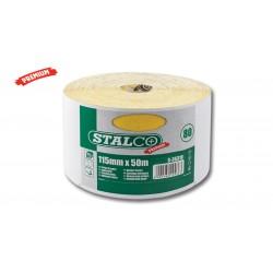 brusný papír 115mm STALCO