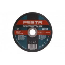 kotouč na kov řezný 150/1,2mm FESTA