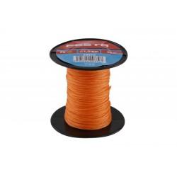 provázek stavební pletený 50m/ 1mm oranžový