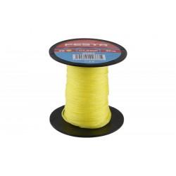 provázek stavební pletený 50m/ 1mm žlutý