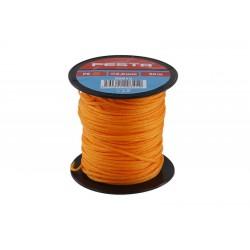 provázek stavební pletený 50m/2mm oranžový