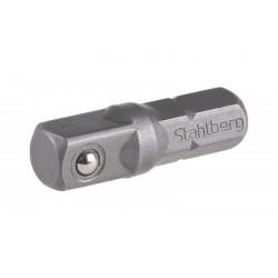 """BIT 6hran - 4hran, adaptér  1/4"""" 25 mm S2"""