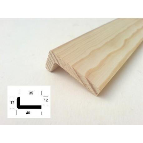 lišta rohová L1740/2,5m borovice