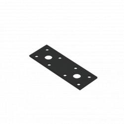 spojka plochá LP1C, 100x35mm černá