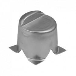 zarážka brány k zabetonování SB90, 90x90x16x1,5 mm