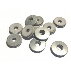 podložka s gumou M5x16 ZB (šedá EPDM)